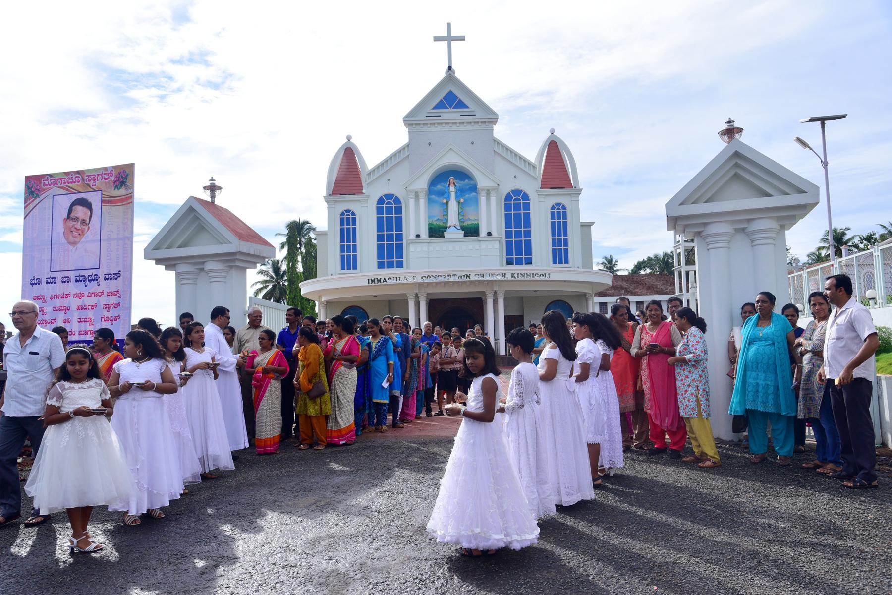Farewell to Fr Mathew Vas